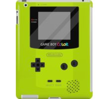 Gameboy Color - Green iPad Case/Skin