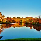 Fall in New England  USA by jeanlphotos