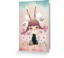 Sugar Bunny Greeting Card