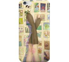 Life on the wall iPhone Case/Skin