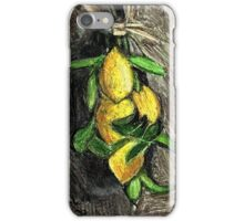 Lemons On The Branch iPhone Case/Skin