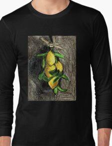 Lemons On The Branch Long Sleeve T-Shirt