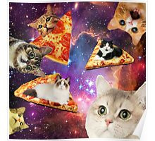 Pizza That's Out of This World Poster