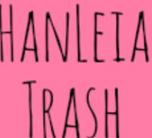 HanLeia Trash Sticker