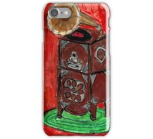 Grandma's Gramophone iPhone Case/Skin