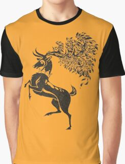 Pokemon / Game of Thrones: Sawsbuck / Baratheon Graphic T-Shirt