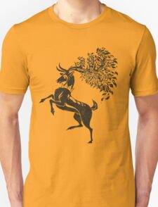 Pokemon / Game of Thrones: Sawsbuck / Baratheon Unisex T-Shirt