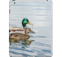 Mr. and Mrs. Mallard iPad Case/Skin