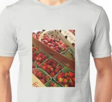 *Strawberries hand picked from the field*  Unisex T-Shirt