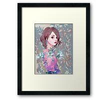#7 Lilies Framed Print