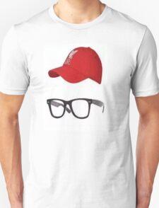 Klopp Glasses & Baseball cap Unisex T-Shirt