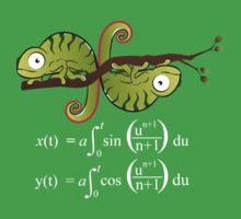 Euler Spiral Kids Tee