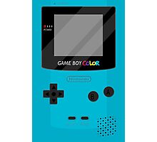 Gameboy Color - Teal Photographic Print