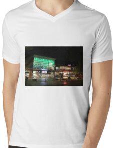 Hoyts Cinema Complex, Wells Street, Frankston, Victoria Mens V-Neck T-Shirt
