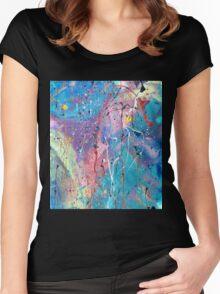 Aqua Dreams Women's Fitted Scoop T-Shirt