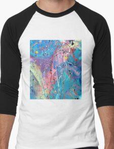 Aqua Dreams Men's Baseball ¾ T-Shirt
