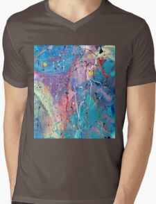 Aqua Dreams Mens V-Neck T-Shirt