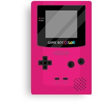 Gameboy Color - Berry Canvas Print