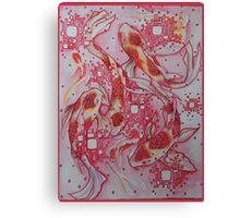Red Koi Canvas Print