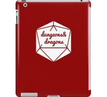 __dungeons and dragons iPad Case/Skin