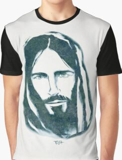 Jesus Christ Face illustration Graphic T-Shirt
