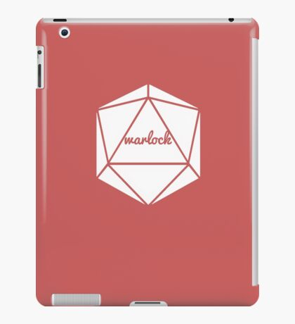 __dungeons and dragons warlock iPad Case/Skin