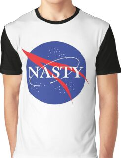 Nasty NASA Graphic T-Shirt