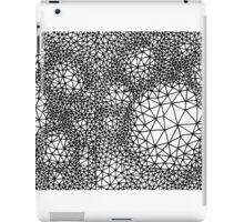 Triangles - Three Vertices & Three Edges iPad Case/Skin