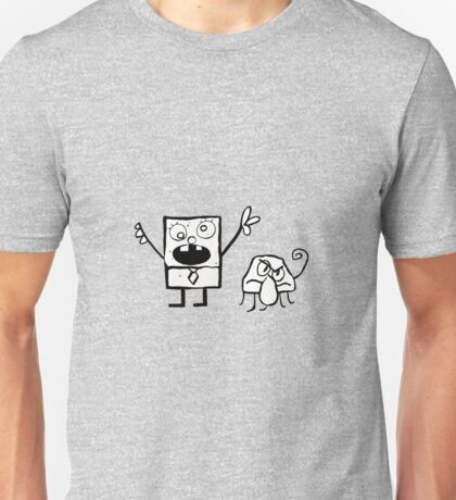 DoodleBob and Squiddle Unisex T-Shirt