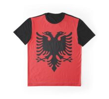 Albania Flag Graphic T-Shirt