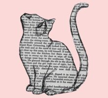 books and cats and books and cats One Piece - Long Sleeve