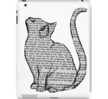 books and cats and books and cats iPad Case/Skin