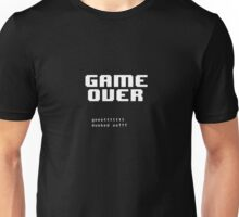 ❤ ♥ Undertale GameOver ♥ ❤ Unisex T-Shirt