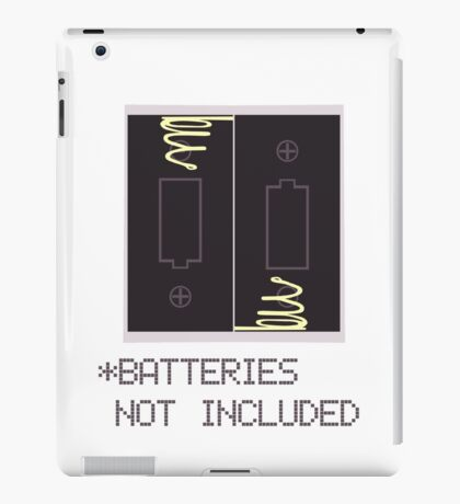 Miscellaneous - batteries not included iPad Case/Skin