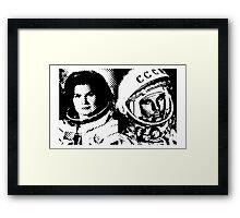 Cosmonauts: Tereshkova & Gagarin Framed Print