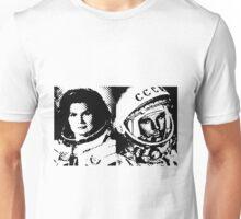 Cosmonauts: Tereshkova & Gagarin Unisex T-Shirt