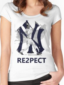 RE2PECT Women's Fitted Scoop T-Shirt
