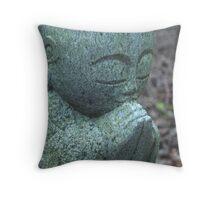 Zen Natural Paving Stones Throw Pillow
