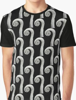 Fern frond -question mark Graphic T-Shirt