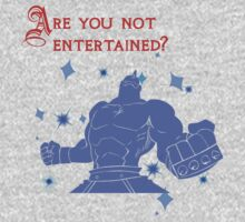 Quotes and quips - are you not entertained - Armstrong One Piece - Long Sleeve