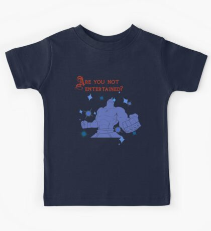 Quotes and quips - are you not entertained - Armstrong Kids Tee