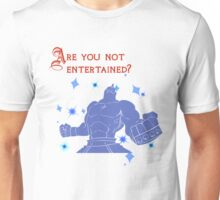 Quotes and quips - are you not entertained - Armstrong Unisex T-Shirt