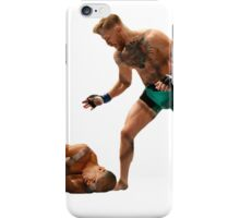 Conor McGregor Knocks Out Jose Aldo iPhone Case/Skin