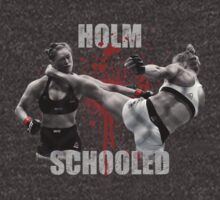 Ronda Rousey Holm Schooled by distressed