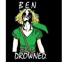 Adult BEN Drowned Photographic Print