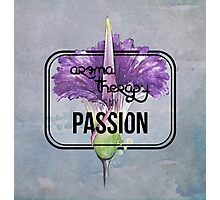 Aromatherapy is my Passion Photographic Print