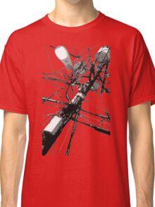 Lamp Post & Power Lines Classic T-Shirt