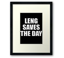 Arya stark - leng saves the day Framed Print