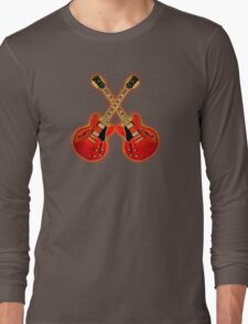 Red Gibson Es 335 Long Sleeve T-Shirt