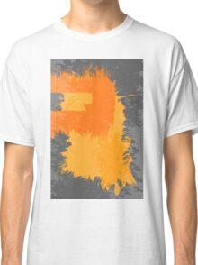 Orange splash Classic T-Shirt